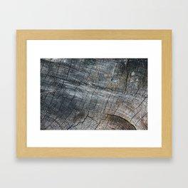 Combien de temps pour t'oublier? VIII Framed Art Print