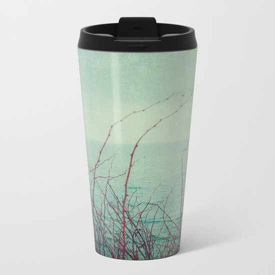 She Would Float and Stare at the Sky Metal Travel Mug