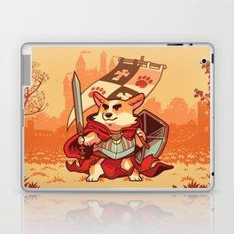 Corgi knight Laptop & iPad Skin
