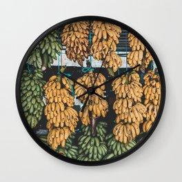 Banana Land Wall Clock