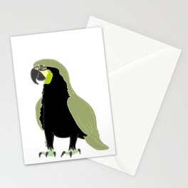 blue or green - who cares? Stationery Cards