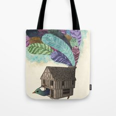birdhouse revisited Tote Bag