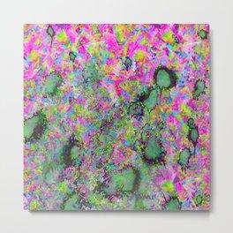Colour Explosion Metal Print