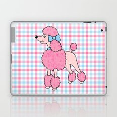 Pink Poodle Laptop & iPad Skin