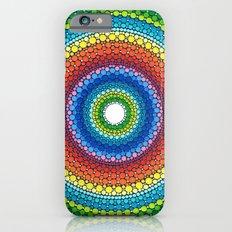 Happy Rainbow Mandala iPhone 6 Slim Case