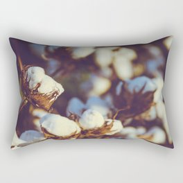 Cotton Field 18 Rectangular Pillow