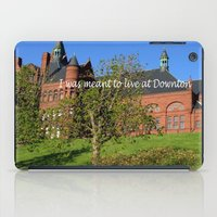 downton abbey iPad Cases featuring Downton Desire by Nonna Originals