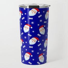 Santa Claus pattern Travel Mug