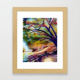 Shade On The Darling Framed Art Print