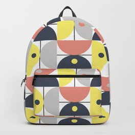 Retro circles Backpack