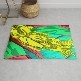 AUTOMATIC WORM 5 Rug