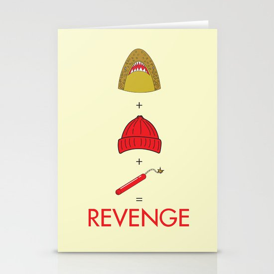 An Exercise in Revenge Stationery Cards