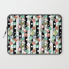 Colorful polka dots pattern Laptop Sleeve