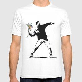 Rage Flower Thrower T-shirt