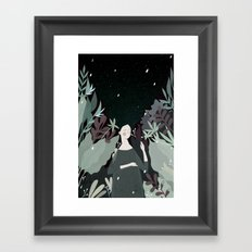sleepiness Framed Art Print
