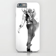Fashion silhouette black and white - Ozie girl iPhone 6s Slim Case