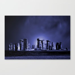 Strange Night at Stonehenge Canvas Print