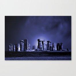 Strange Night at Stonehenge Canvas Print