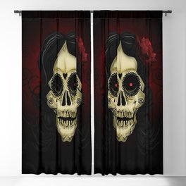Day Of The Dead Blackout Curtain