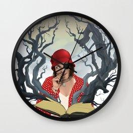 Escape into Reading Wall Clock