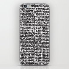 My style is better than yours punition iPhone & iPod Skin