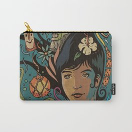 Wahine #4 Carry-All Pouch