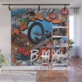 BMX CHILD Wall Mural