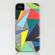 Abstract Triangles iPhone (4, 4s) Slim Case