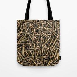 Rifle bullets Tote Bag