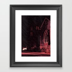 A Holy Place Framed Art Print