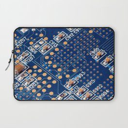 Blue Panel Laptop Sleeve
