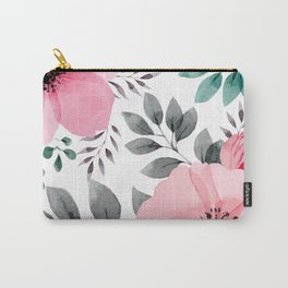 FLOWERS WATERCOLOR 14 Carry-All Pouch