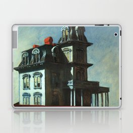 The House By The Railroad By Edward Hopper 1925 Laptop & iPad Skin