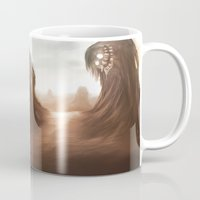nightmare Mugs featuring Nightmare by Teodor Borisov