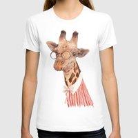 giraffe T-shirts featuring Giraffe by Animal Crew