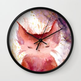 Ember in the Sun Wall Clock