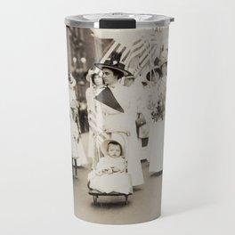 Suffragist Parade, 1912 Travel Mug