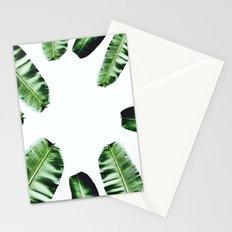Botanical Banana leaf Stationery Cards