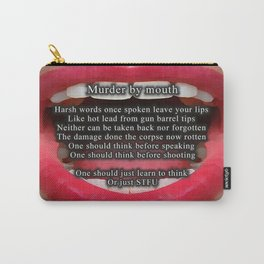 Murder By Mouth - 016 Carry-All Pouch