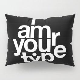 HELVETICA! Pillow Sham