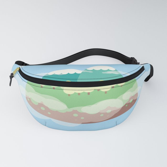Mountains In The Sky Fanny Pack