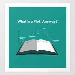 What is a Plot, Anyway? Art Print