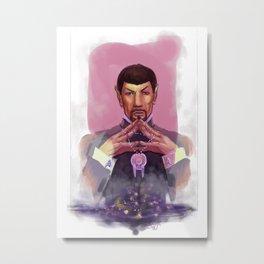 Spock Metal Print