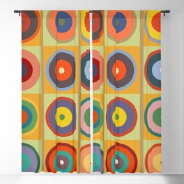Kandinsky #26 Blackout Curtain