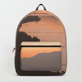 Pacific Northwest Sunrise - nature photography Backpack