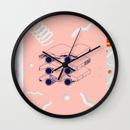 """E"" of DREAMS Wall Clock"