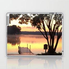 Dock at Sunrise Laptop & iPad Skin