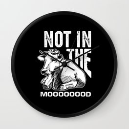 Cow Ungulate Wall Clock