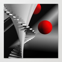 go upstairs -2- Canvas Print