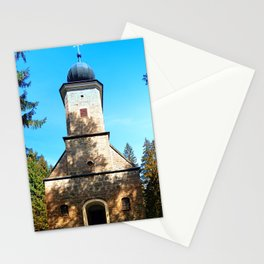 Maria Rast forest chapel 2 Stationery Cards